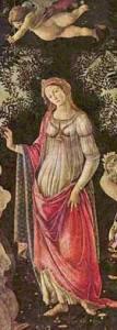 Primavera (detail) Sandro Botticelli
