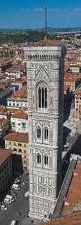 Giotto's Campanile of Florence Cathedral 118X328