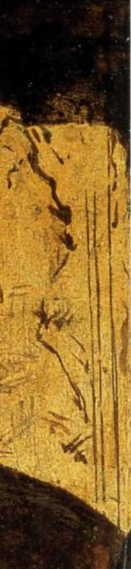 Crucifix (detail from St Jerome) Leonardo da Vinci