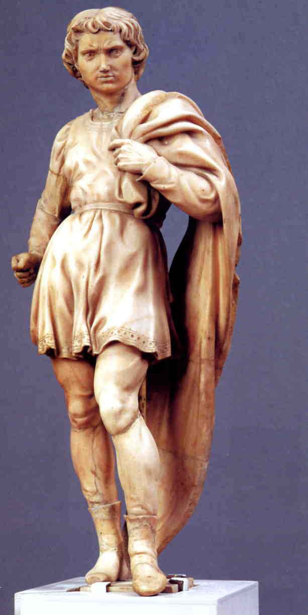 St Proculus by Michelangelo.