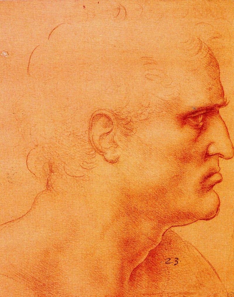 St Bartholomew by Leonardo da Vinci.
