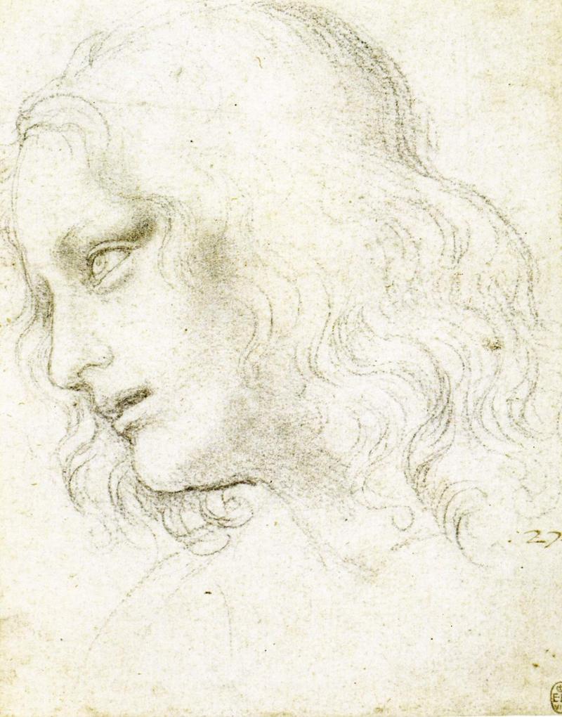 Study for St Philip by Leonardo da Vinci