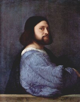 Portrait of a Man by Titian