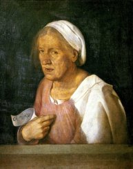 The Old Woman by Giorgione c. 1500/1510