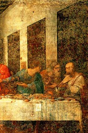 Leonardo da Vinci, the Last Supper.