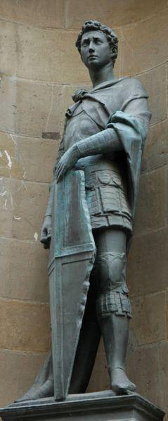 Donatello's marble statue of St George