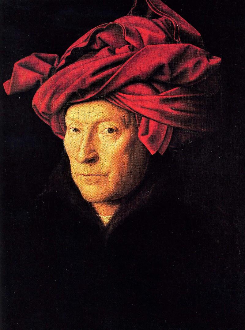 Jan van Eyck, Man in a Red Turban.