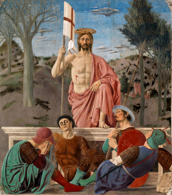 The Resurrection of Christ by Piero della Francesca.