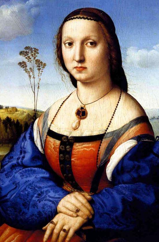 Maddelina Doni by Raphael.