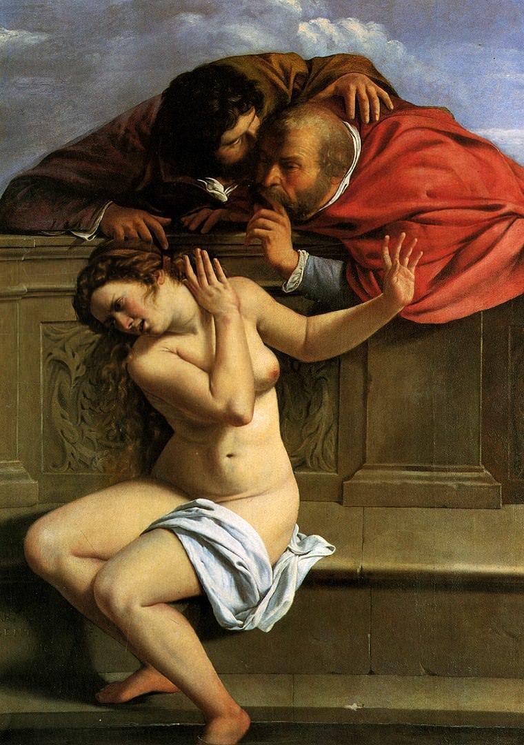 Artemisia Gentileschi, Susanna and the Elders.