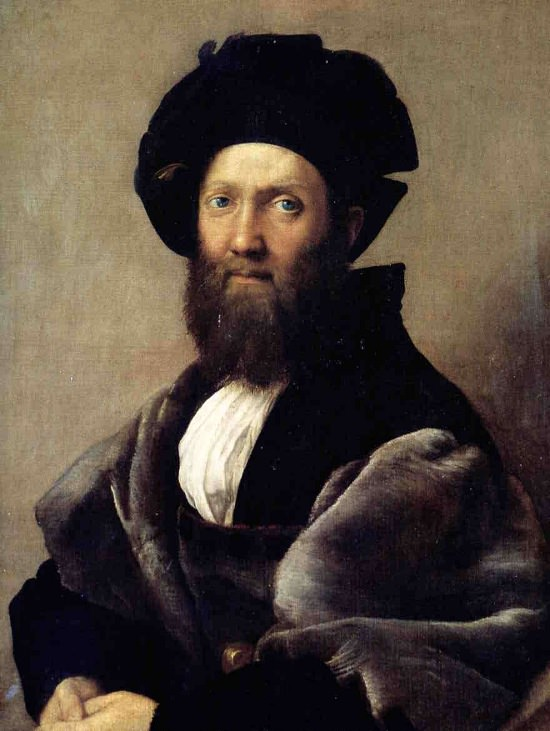 Count Baldassare Castiglione, Raphael.
