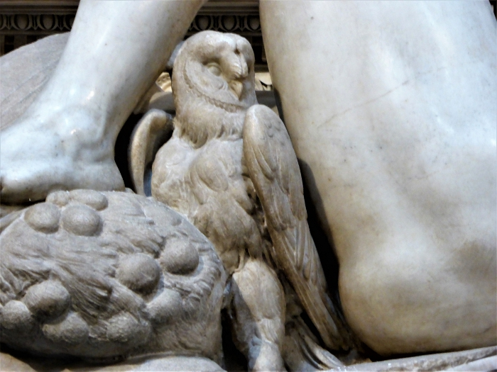 Michelangelo's Owl, Medici Chapel, Florence, Italy