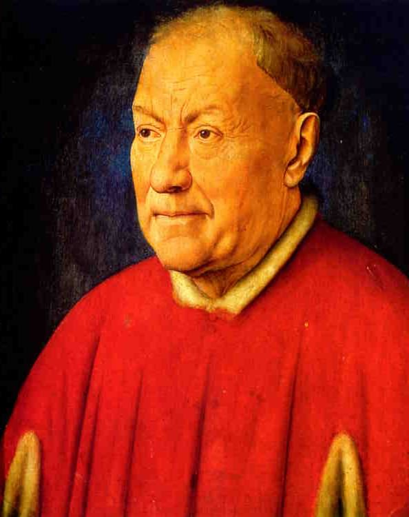 Jan van Eyck, Cardinal Niccola' Albergati.