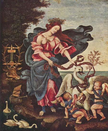 Allegory of Music by Filippino Lippi