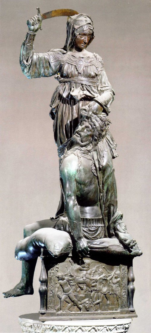 Judith and Holofernes by Donatello 1460.