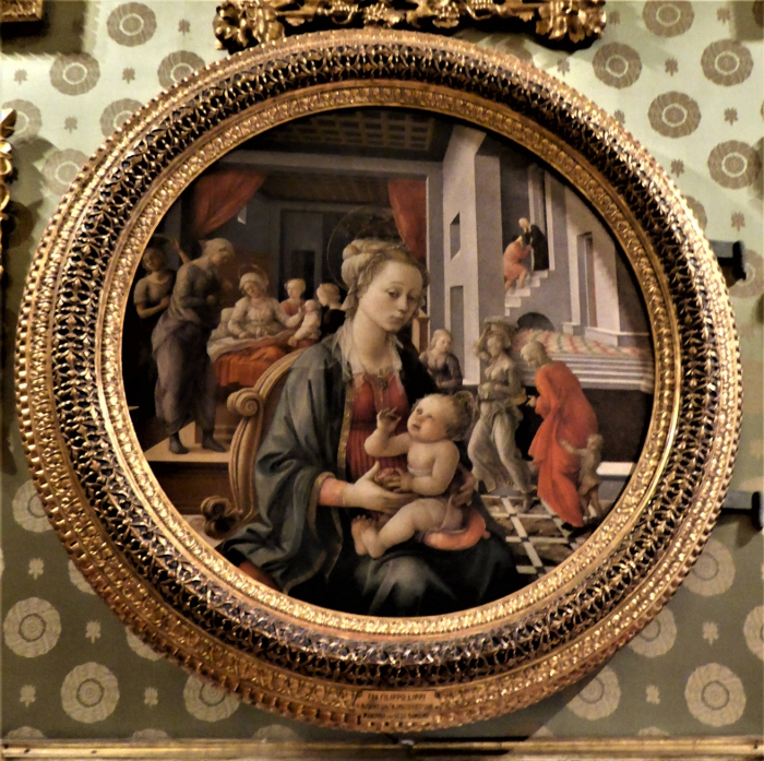 Filippo Lippi, Madonna and Child, Pitti Palace, Florence, Italy