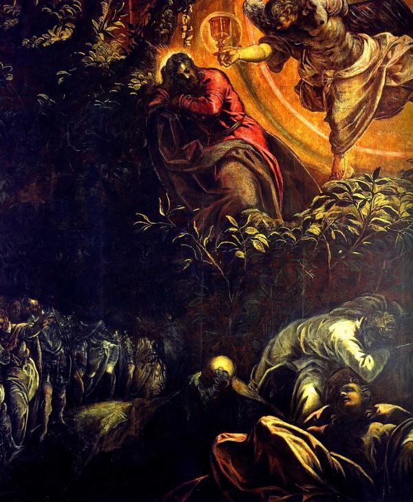 Tintoretto, Agony in the Garden, 1578. Scuola Grande di San Rocco, Venice