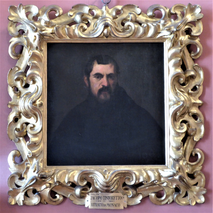 Tintoretto, Ritratto de Monaco, Pitty Palace, Florence, Italy