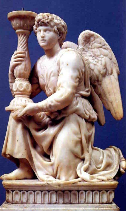Michelangelo's Kneeling Angel.