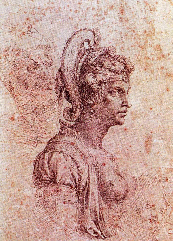 Zenobia, Queen of Palmyra by Michelangelo