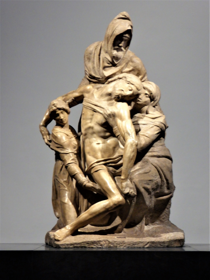 The Florentine Pieta by Michelangelo, Museo dell'Opera del Duomo, Florence, Italy