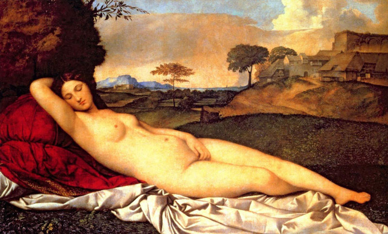 The Sleeping Venus by Giorgione