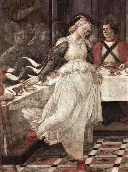 Fra Filippo Lippi, Salome Dancing.