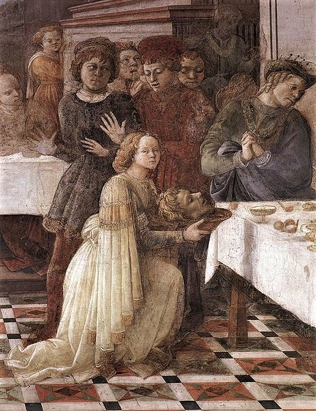 Fra Filippo Lippi, Salome Presenting the Head of John the Baptist.