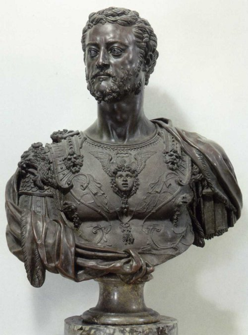 Duke Cosimo I by Benvenuto Cellini, Bronze, Florence, 1545/47