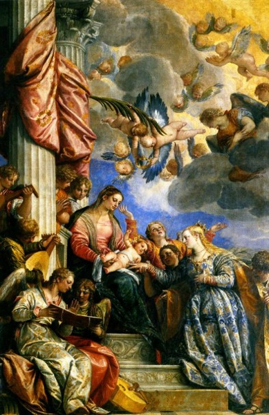 Marriage of St Catherine by Veronese