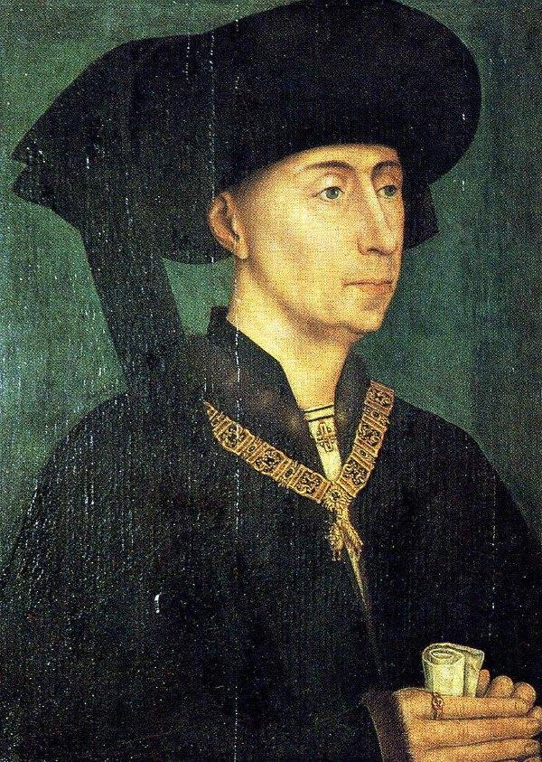 Philip the Good, Rogier Van der Weyden.