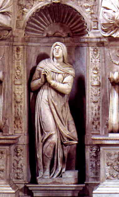 Rachel by Michelangelo.