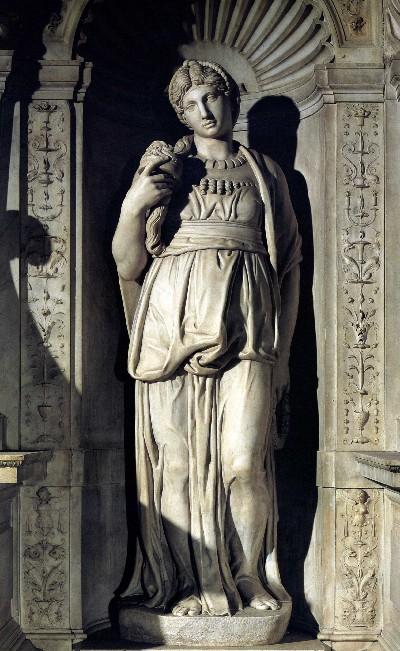 Leah by Michelangelo