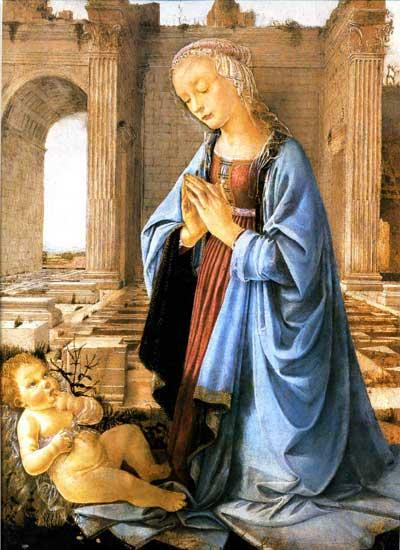 The Ruskin Madonna, Andrea del Verrocchio