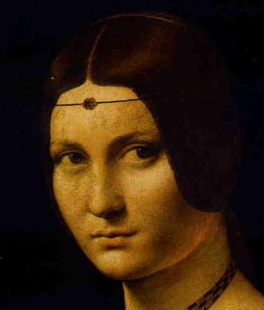 Leonardo da Vinci, La Belle Ferronier, detail.