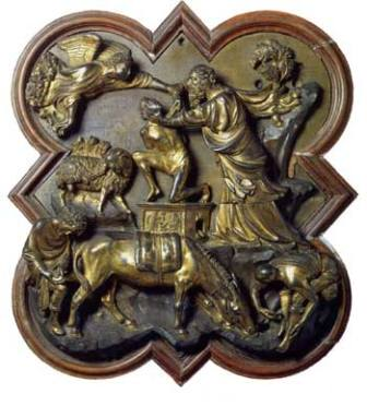 Sacrifice of Abraham by Brunelleschi  sc 1 st  Italian Renaissance Art : brunelleschi doors - pezcame.com