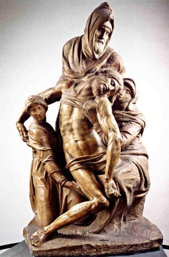 Michelangelo's Florentine Pieta.