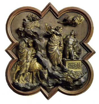 Sacrifice of Abraham by Ghiberti