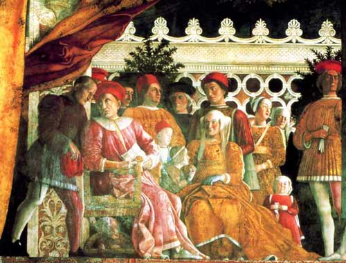The Gonzaga Family by Andrea Mantegna