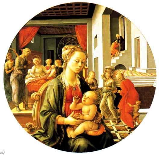 Fra Filippo Lippi, Madonna and Child c. 1453.