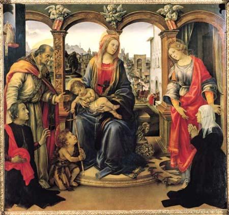 Madonna and Child by Filippino Lippi