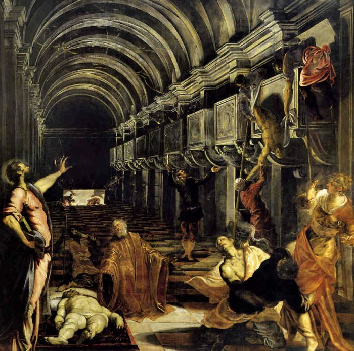Finding the body of St Mark by Tintoretto.