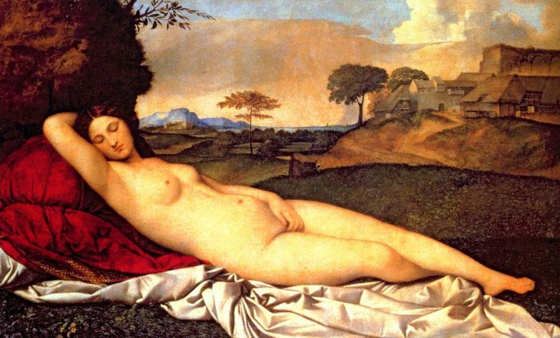 The Sleeping Venus by Giorgione