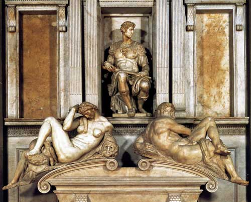 Tomb of Giuliano by Michelangelo