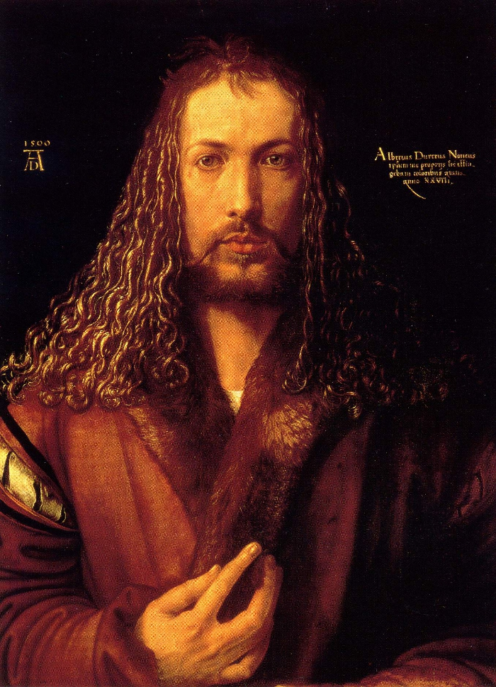 Durer, self-portrait of an artist at the height of his powers