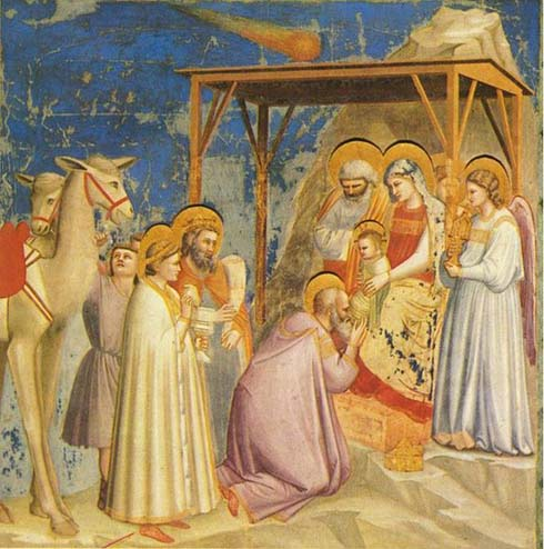 The Adoration of the Magi by Giotto