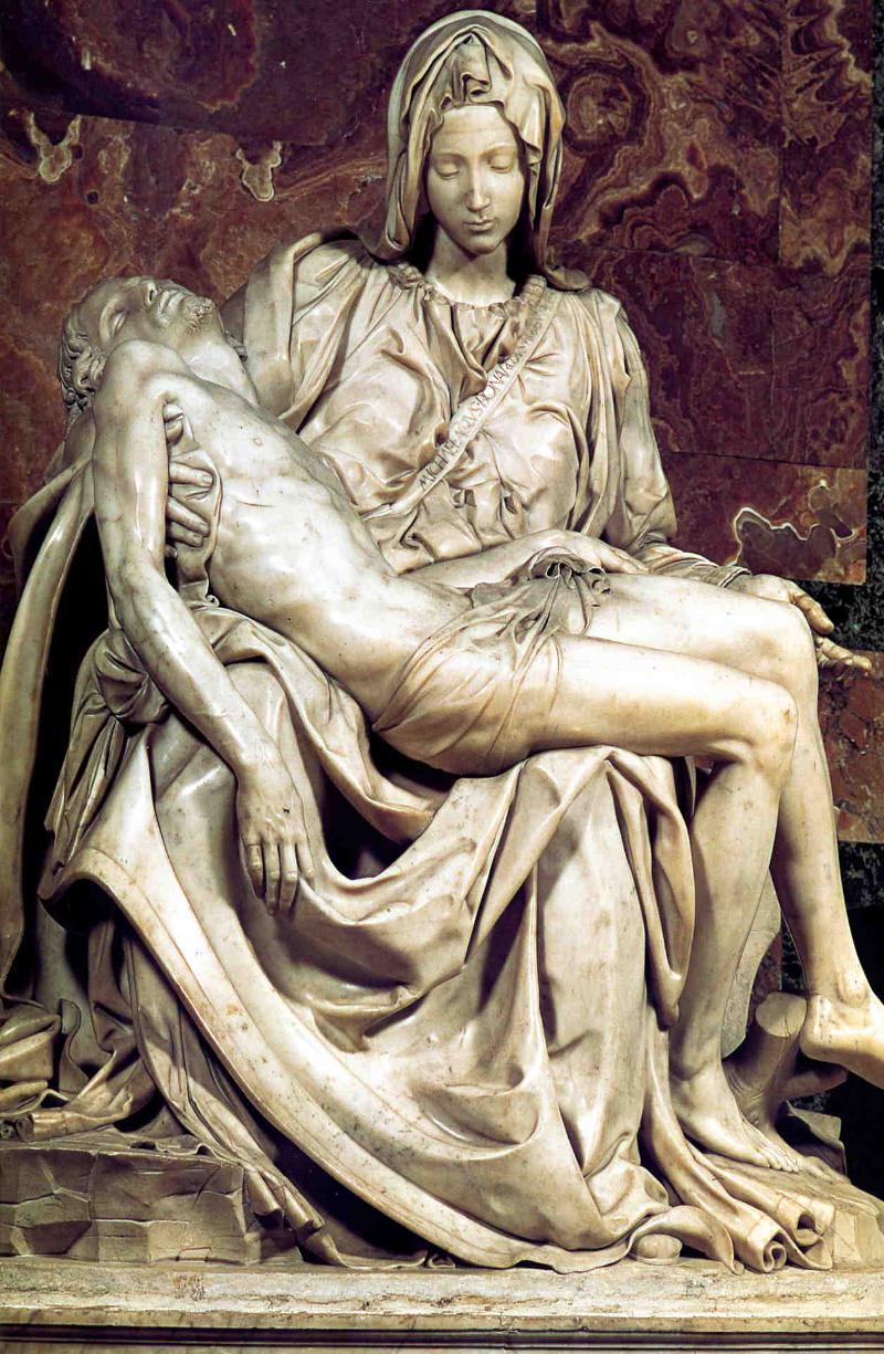 Michelangelo's Rome Pieta.