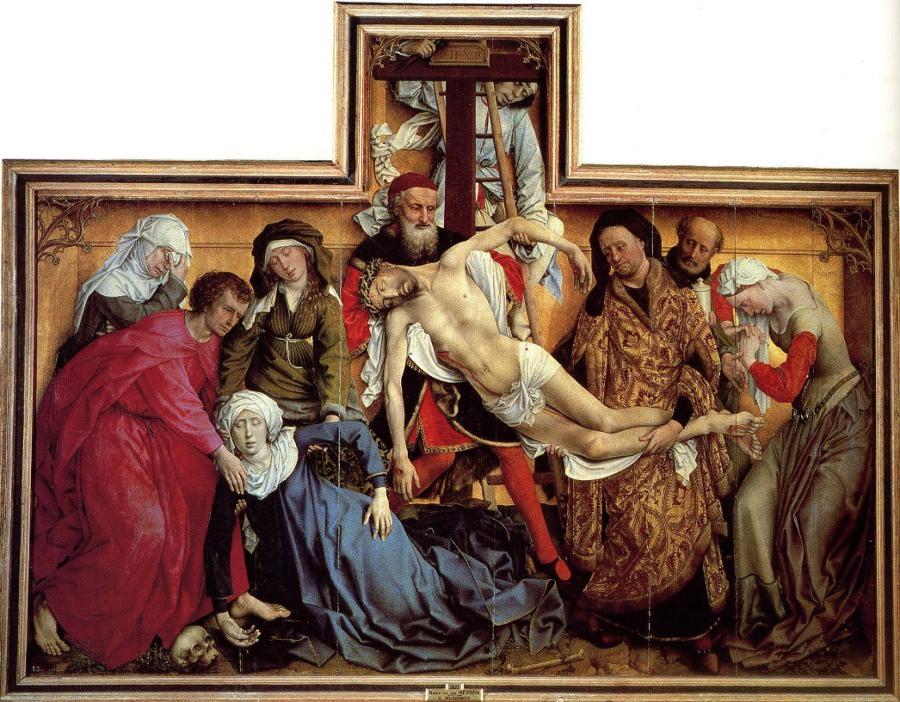 Van der Weyden, Descent from the Cross.
