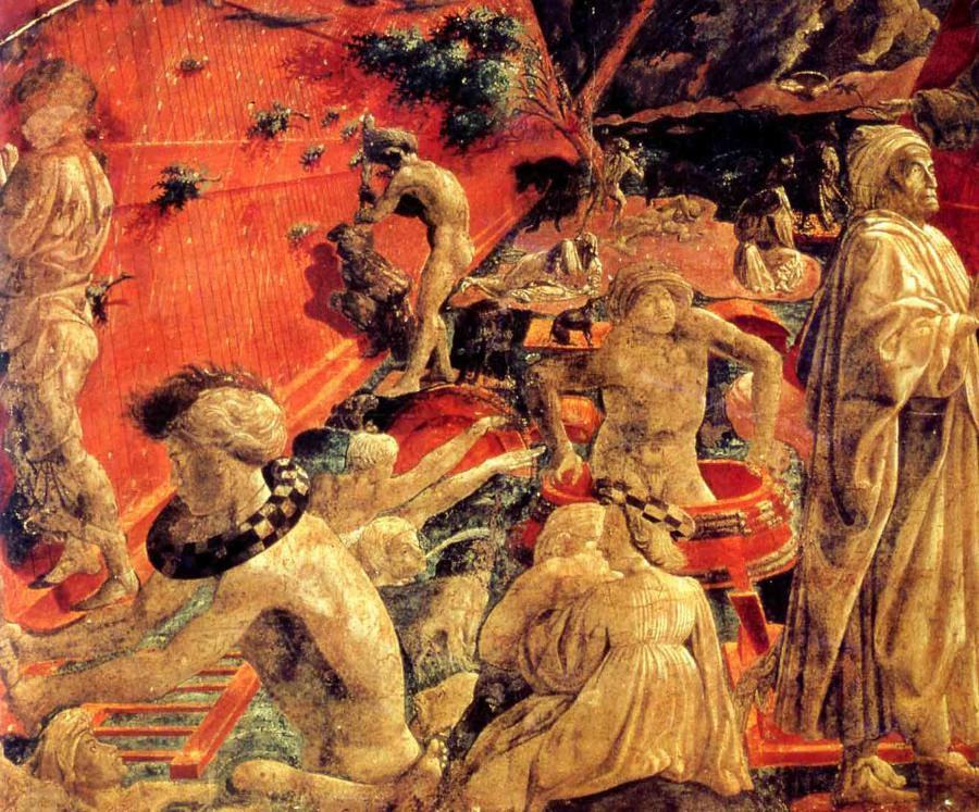 Uccello, The Flood and the Subsidence of the Waters.