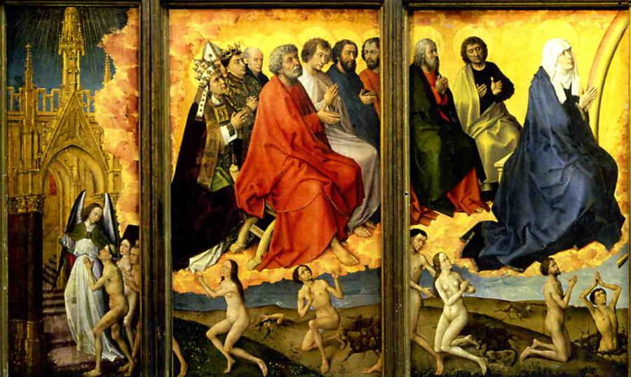 Van der Weyden's Left-Wing from The Last Judgement Polyptych.